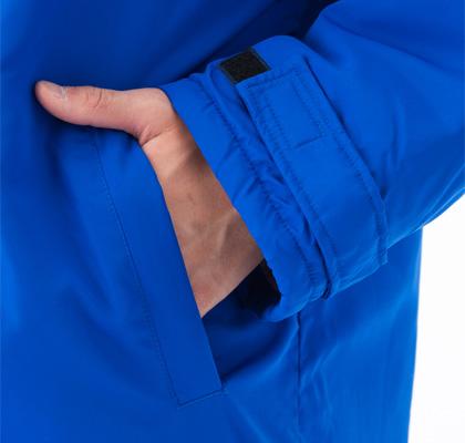 アクティブベンチコート,袖ポケット